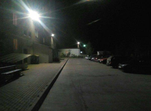 Облаштування прибудинкової території та вуличного освітлення в будинку по вул. Будівельна 15